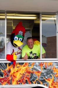 Jim and Fredbird at a Charity Event!